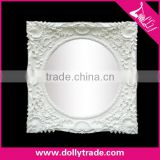 71*71cm White Square Ornaments Resin Photo Frame Crafts Gifts Wedding Mirror Frame Picture Frame