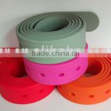 newest durable silicone belt for sports