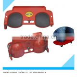 ROLLING PLATFORM KNEE PADS CUSHION GARDENER CREEPER WITH WHEEL SEAT BOARD ROLLER Rolling Knee pad with Caster Wheels
