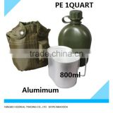 3-Piece Canteen Kit With Cover & Aluminum Cup - Camping/Survival
