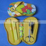 4pcs shoe flip flop manicure set , nail care tools set