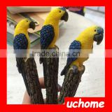 UCHOME Polyresin 3d Animal Yellow Bird Resin Pen