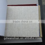 Wholesale hardcover book binding buckram linen textile fabric cloth for packaging material