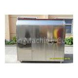 Outside Portable Coffee Cart Mobile Coffee Van Stainless Steel Color