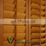 Bamboo shutters window blind-Solid