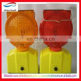 yellow solar flashing warning light/led red solar flashing lights