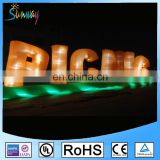 LED Decorative inflatable sign / inflatable letter / inflatable alphabet For event or party
