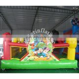 Outdoor/Indoor inflatable Playground cartoon theme Funland for business