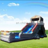 promotion product Inflatable wide pool slide, ocean floating water slides,lake inflatable water slides