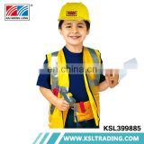 Hot sale party clothes suit boys engineer children costume