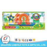 Plastic out-door toys custom plastic junior golf clubs for kids