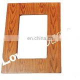 PLAIN WOODEN PHOTO FRAME