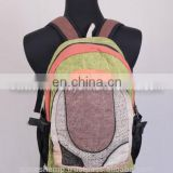 Fashionable Carry Hemp Backpack HBB 0019