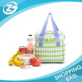 Custom Design Cheap Reusable Fashionable Flexible Polyester Collapsible Mother Man Leakproof Cooler Lunch Bag