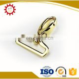 "Swivel 1"" snap hook for handbags with logo inserted"