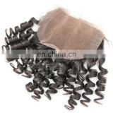 raw unprocessed 100% wholesale brazilian virgin human hair lace closures and frontals human hair