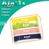 resistance loop/exercise resistance band/customized logo print resistance bands set