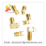 RF connector SMA male and SMA female connector board to board 4pins feet