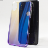 Phone Case For Samsung Galaxy S9 Plus Luxury Aurora Gradient Color Transparent Case For Samsung Galaxy S9 Plus Hard PC Cover