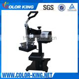 "Color King 5""X5"" Digital Manual Dual Heating Plates Rosin Heat Press Machine"