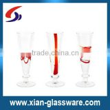 promotional hot selling high quality impulse crazy cordial hand-crafted glass wholesales