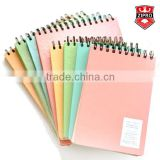 memo notepad spiral pad notebook cute color writing notebook