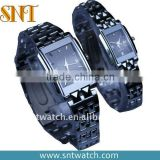 New model alloy quartz couple watches
