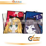 beach towel with anime/cartoon logo