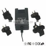 UL/CUL/CE/FCC approval ac/dc adapter charger/power supply with 3.2v 3.7v 4.2v 4.3v 4.5v 4.7v 5.2v and 5.4v dc output