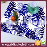 2015 new design Customized full color printing Colorful Plastic placemat