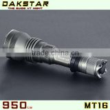 DAKSTAR MT16 XML T6 950LM 18650 High Power Deep Reflector CREE LED Police Tactical Flashlight Rechargeable Torch