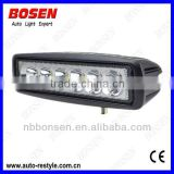 18W flush offroad LED work light truck light for for tractor, forklift, off-road, ATV, excavator, heavy duty equipment etc.