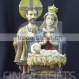 Polyresin Holy family crafts