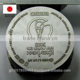 Original and High-precision mold and metal stamp made in japan for brass engraving plates