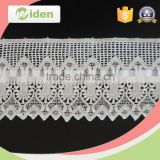 Multi color can be chosed grid lace fabric chemical lace                                                                                                         Supplier's Choice