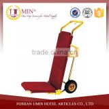 Folding Hotel Luggage Carts Used