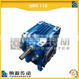 NRV 110 30:1 Electric Motor with Reduction Gear Gearbox for Winch