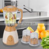 Jialian JL-BY22 2 Speeds 3 in 1 Stainless Steel Blade Electric Plastic Home Use Blender Machine