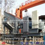 high capacity rock crushing plant/ mobile crusher station in malaysia