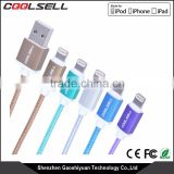 Original MFI cable supplier for Braided MFi Certified Reliable Charging and Syncing mfi usb data cable for all apple Devices