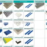 Cardbord and carton box industry factory QNB series plastic modular conveyor belt/QNB belt