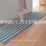 Washable stripe kitchen carpets and rugs runner from China supplier