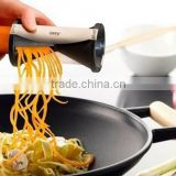 Spiral cutting device/Double funnel cutters/Creative kitchen multifunctional wire planing machine