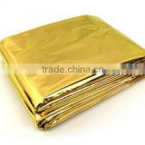 outdoor first aid aluminum foil emergency survival blanket                                                                         Quality Choice