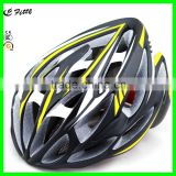 CE approved fashionable style flash lamp adult sport skating bike bicycle helmet