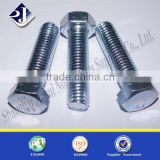 online shopping carbon steel electric galvanized hex bolt and nut