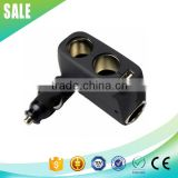 New design 3 way 12v car cigarette lighter plug with USB