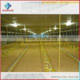 light frame steel structural chicken house poultry farming building                                                                         Quality Choice