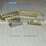 Mould Die Component bronze pads,SEW Graphite filled Wear Plate,SEW125-125 Copper Slide pad