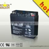 sealed lead acid battery 12v 20ah with high pure lead acid battery plate